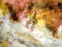 Antique Watercolor Grunge Stock Photography