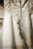 Old Wedding Dress Royalty Free Stock Images