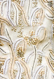 Antique Wedding Fabric Royalty Free Stock Photo