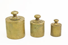 Antique weights Stock Images