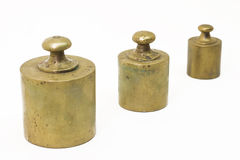 Antique weights Stock Photography