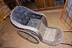 Antique Wheelchair Stock Photography