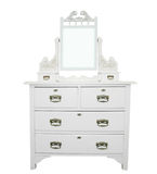 Antique White Dressing Table Stock Photography