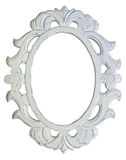 Antique White Frame Royalty Free Stock Photography