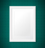 Antique white frame Stock Photos