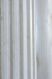 Antique White Marble Fluted Column Royalty Free Stock Photography