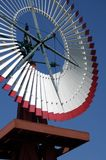 Antique Windmill 9. Antique windmill in Spearman, Texas Royalty Free Stock Photo
