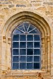 Antique window. Of church stock image
