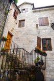 Antique windows in Kotor ,Montenegro Stock Photos