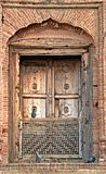 Antique windows of lahore fort Royalty Free Stock Photos
