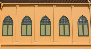ANTIQUE WINDOWS  STYLE Royalty Free Stock Photos