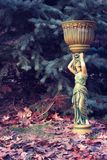 Antique woman Stock Image