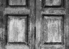 Antique wood texture background of window Royalty Free Stock Photos