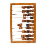 Antique wooden abacus Royalty Free Stock Photos
