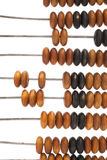 Antique wooden abacus Stock Photo
