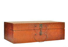 Antique wooden box Royalty Free Stock Photography