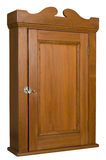 Antique Wooden Cabinet - 3/4 Right View Royalty Free Stock Photography