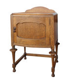 Antique Wooden Cabinet Royalty Free Stock Image