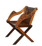 Antique Wooden Chair Stock Photo