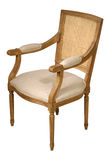 Antique wooden chair Stock Photography