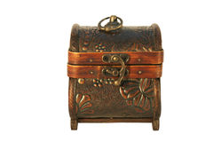 Antique Wooden Chest Royalty Free Stock Photo