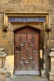 Antique wooden door Royalty Free Stock Images