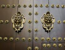 Antique wooden door. Stock Photography