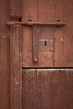 Antique wooden door Stock Image