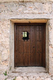 Antique Wooden Door Stock Photo