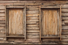 Antique wooden doors Stock Photos