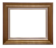 Antique wooden frame Royalty Free Stock Image