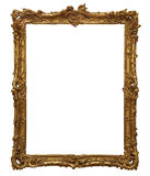 Antique wooden frame Stock Images