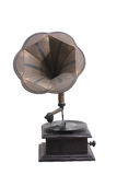 Antique wooden Gramophone Stock Photo