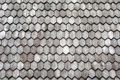 Antique wooden roof pattern detail texture background.  Royalty Free Stock Photos