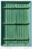 Antique wooden shutters Stock Image