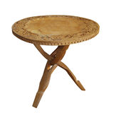 Antique Wooden Table Stock Photos