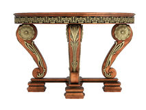 Antique wooden table Stock Image