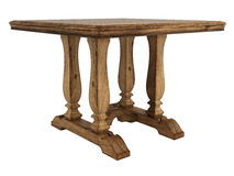 Antique wooden table Royalty Free Stock Image