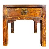 Antique wooden table Stock Images