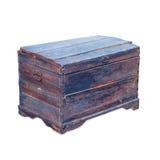 Antique wooden trunk Stock Photos