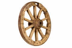 Antique Wooden Wheel 2 Royalty Free Stock Image