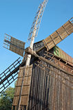 Antique wooden windmill Royalty Free Stock Photography
