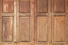 Antique wooden window texture background Royalty Free Stock Images