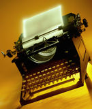 Antique Word Processor - Typewriter Stock Image