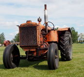Antique Working Allis Chalmers Tractor Stock Images