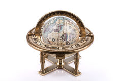 Antique world globe Royalty Free Stock Photo