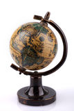 Antique world globe Stock Photography