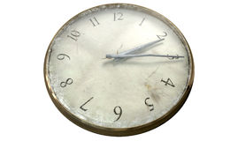 Antique Worn Pocket Watch Royalty Free Stock Images