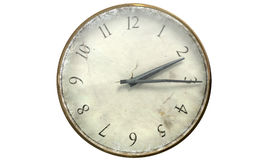 Antique Worn Pocket Watch Royalty Free Stock Image