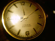 Antique wrist watches Royalty Free Stock Photography